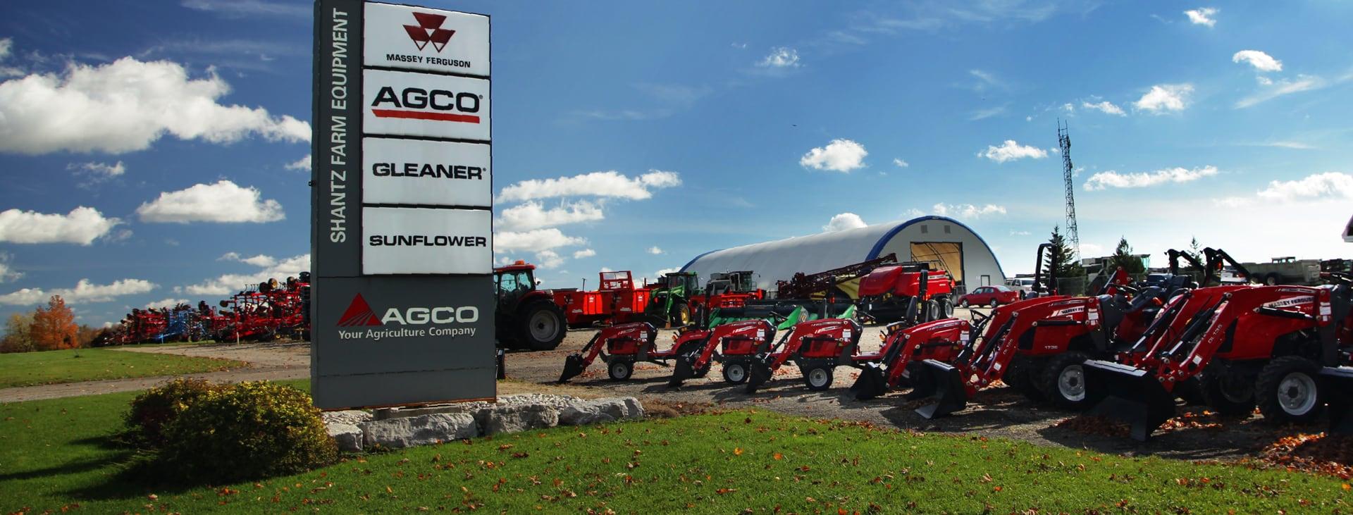 Shantz Farm Equipment | AGCO Dealer, Gleaner Combines, Parts, Salvage