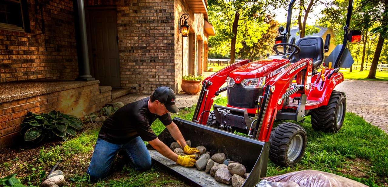 massey ferguson gc1700 series compact tractor