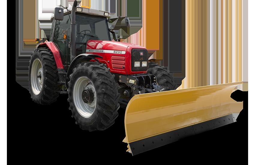 HLA 4000 series snow blade tractor Image 1