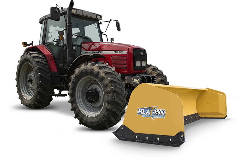 HLA 4500 series snow pusher Image 1