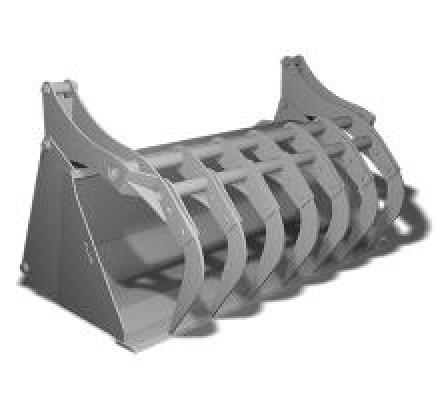 HLA Attachments Silage Grapple Bucket MBHVSG84 Image 1