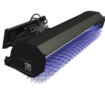HLA Hydraulic rotary broom image Image 2